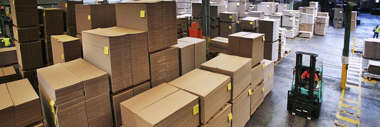 Fábrica de cajas de cartón