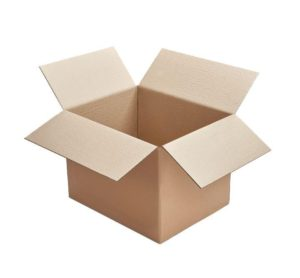 Cajas de carton de canal simple