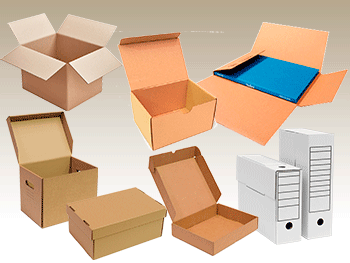 Cajas de carton - Ricardo Arriaga - Cajas automontables - Caja de archivo