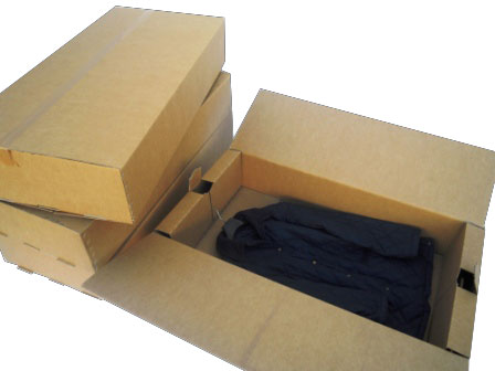 Cajas de carton para vestidos de novia