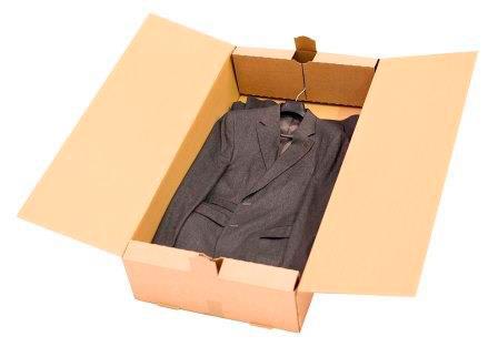 cajas para envio de prendas - caja armario - cajas para una prenda