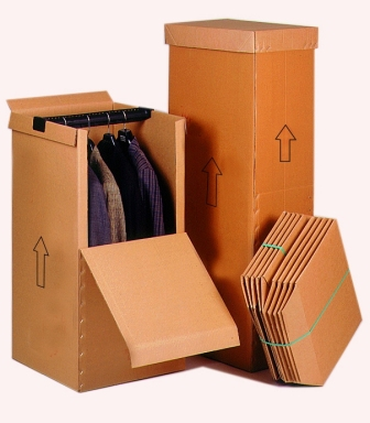Cajas cartón, cajas armario