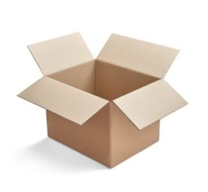 cajas carton de canal simple