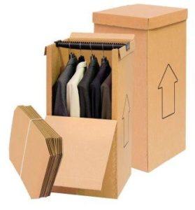 Cajas para guardar ropa