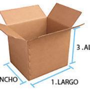 Medidas de cajas de carton