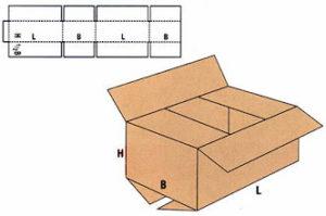 Caja carton ondulado