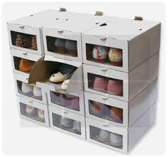 caja carton para zapatos