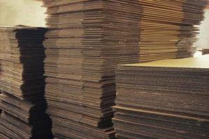Cajas de carton en stock