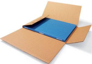 Caja de carton reciclado