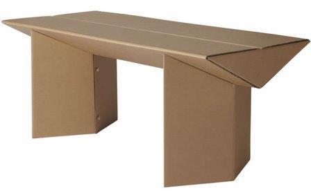 Cajas de carton ecologicas en ricardo arriaga ra pack - Mesas de carton ...