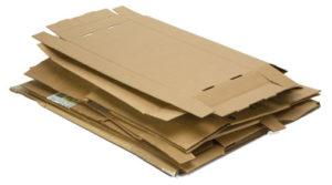 Cartón para reciclar
