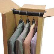 Cajas armario para prendas