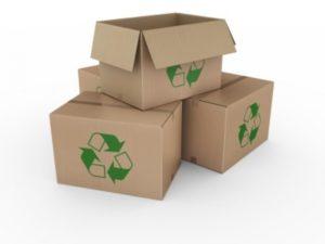 cajas de carton reciclado