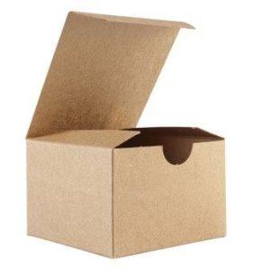 caja kraft automontable