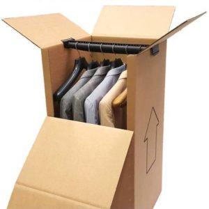Cajas armario para enviar prendas