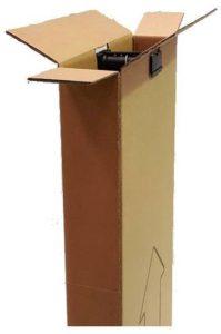 Cajas armario para enviar una prenda