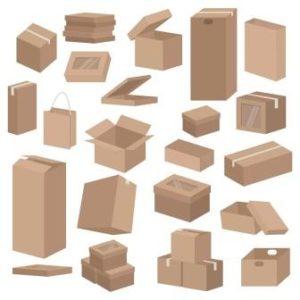 tipos de cajas de carton