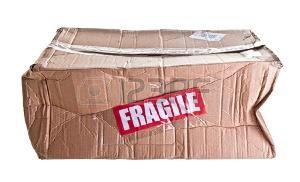 cajas de carton rotas