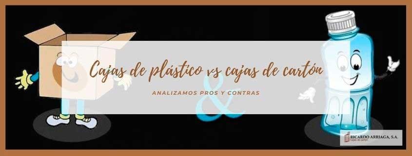 Comparativa entre las cajas de cartón y las cajas de plástico